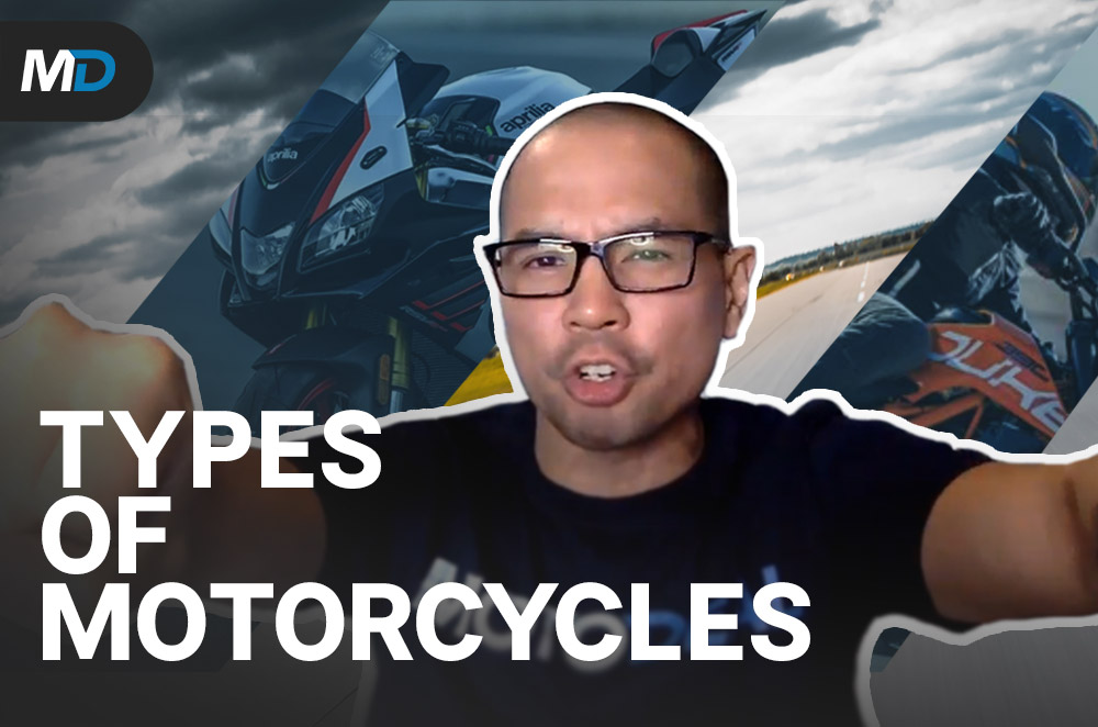 Types of Motorcycles – Behind a Desk