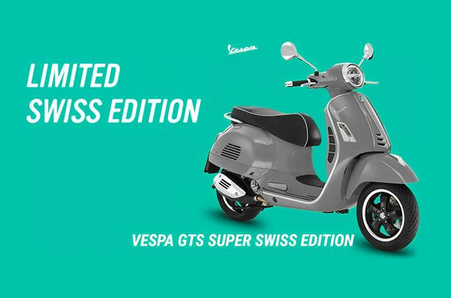 Vespa GTS Super Swiss Edition