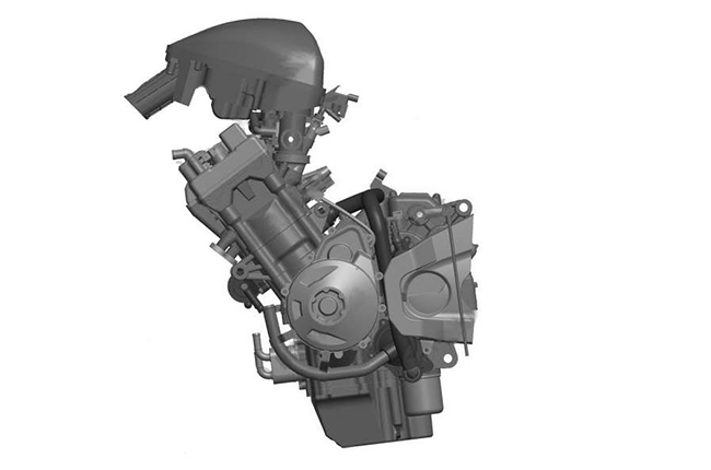 VSK 800 Inline-4 engine patent