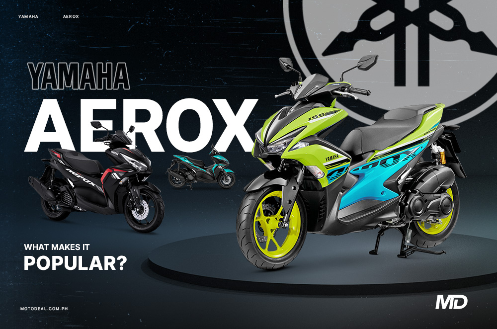 What makes the Yamaha Aerox so popular?