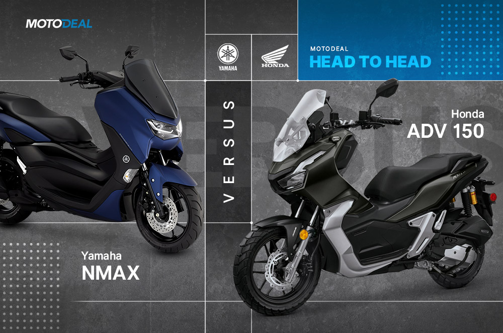 Yamaha NMAX vs Honda ADV 150 - Head to head