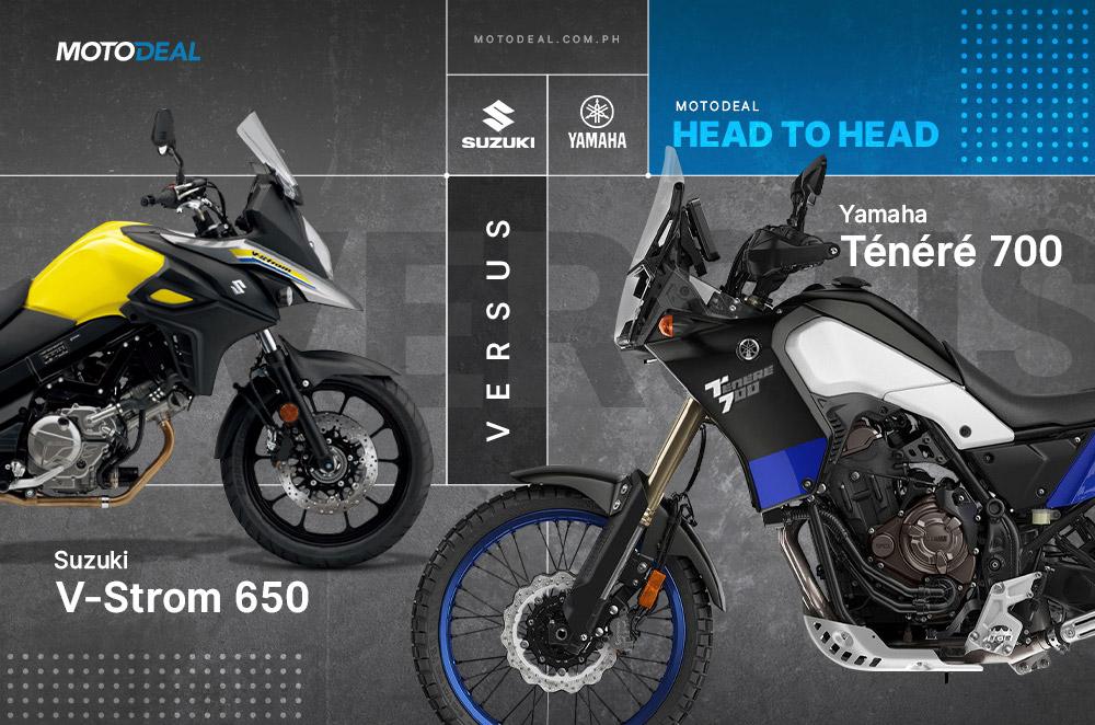Yamaha Ténéré 700 versus Suzuki V-Strom 650 - Head to head