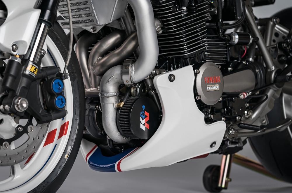 Yamaha Turbocharged Motorcycle
