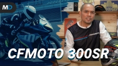 2021 CFMoto 300SR Launches in the Philippines - Behind a Desk