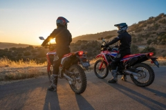 2021 Honda CRF300L and Rally
