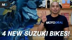 4 Suzuki Bikes