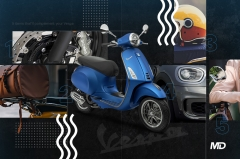 5 things that will complement your Vespa