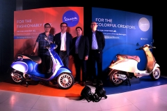 2018 Vespa Primavera and Sprint