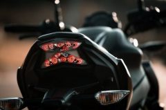 Are hazard lights important on a motorcycle?