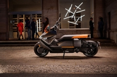 BMW officially unveils futuristic CE 04 electric scooter