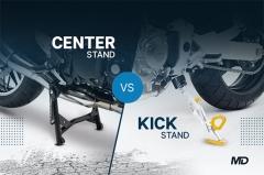 Center Stand vs Kick Stand