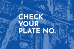 Check your plate number Manila City