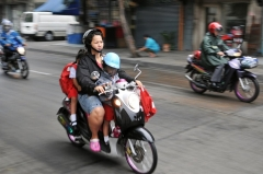 Dangers and Violations child passengers on motorcycles