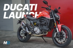 Ducati Monster 937, Supersport 950 and Panigale SP Launch - Behind a Desk