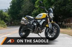 Ducati Scrambler - On the Saddle