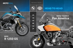 H-D Pan America vs BMW R 1250 GS