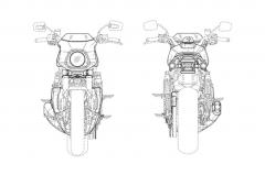 Harley Davidson Cafe Racer Sketch