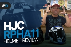 HJC RPHA 11 Pro Helmet Review - Behind a Desk