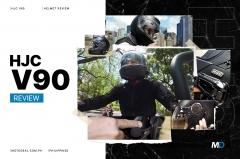 HJC V90 Helmet Review - Behind a Desk