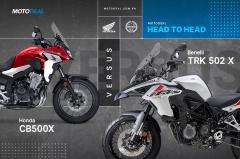 Honda CB500X vs Benelli TRK502X