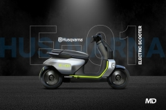 Husqvarna E-01 electric scooter could come in 2022