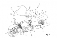 Indian Liquid Cooled Tourer Patent