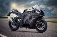 Kawasaki gives the Ninja ZX-10R some stealthy treatment for 2022