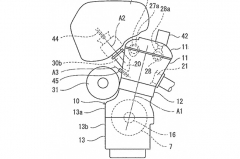 Kawasaki Supercharged 2-stroke Hybrid patent