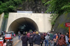 Kaybiang Tunnel is now closed to tourists