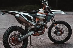 KTM 6 Days Dirt Bike