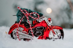 Motorcycle Christmas
