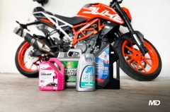 Motorcycle Coolant and KTM 390 Duke
