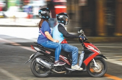 Motorcycle helmets required in the Philippines