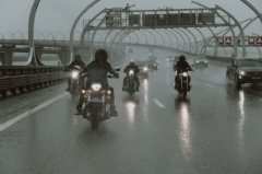 Motorcyclists on Highway