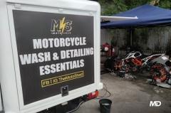 Motoshed X Motostrada detailing