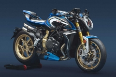 MV Agusta Brutale 1000 RR Blue and White M.L.