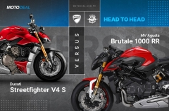 MV Agusta Brutale 1000 RR vs Ducati Streetfigther V4 S