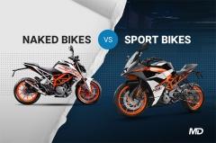 Naked Bikes vs Sport Bikes