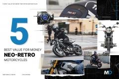 Neo-Retro Motorcycle Cover