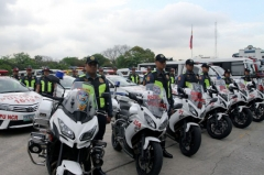 PNP-HPG conducts operation to crackdown illegal blinkers and sirens