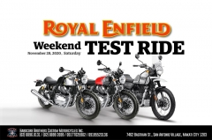 Royal Enfield Test Ride Weekend