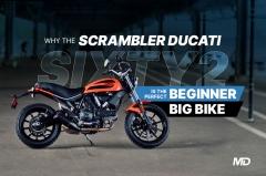 Scrambler Ducati Sixty2 Beginner Bike