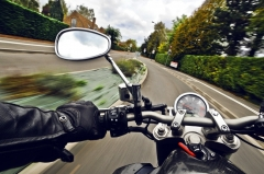 Should you remove your motorcycle's rear-view mirrors?