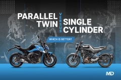 Single cylinder vs Parallel twin