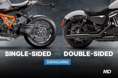 Single-sided vs double-sided swingarm What's the difference