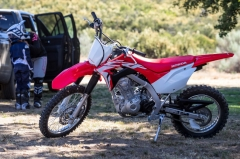 Start them young with the new Honda CRF125F