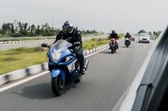 Suzuki Hayabusa Highway Ride