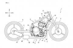 Suzuki parallel twin patent