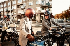 The Distinguished Gentleman's Ride celebrates its 10th anniversary this year