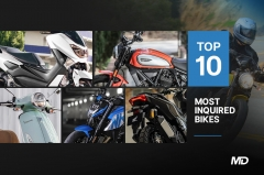 Top 10 most inquired bikes